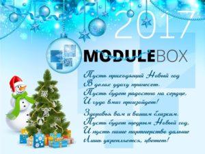 Merusoft поздравляет Вас с Новым годом и Рождеством!