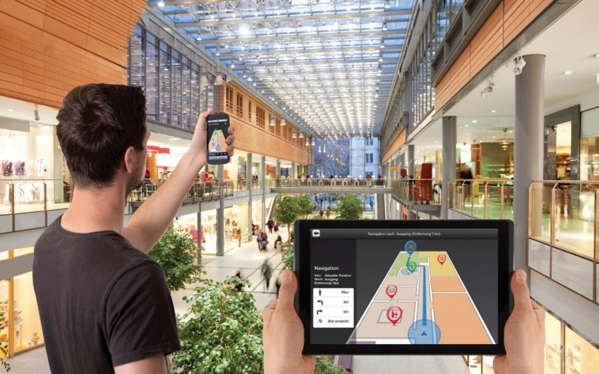 Indoor позиционирование. Решение Merusoft Smartoffice для коворкинг и торговых центров